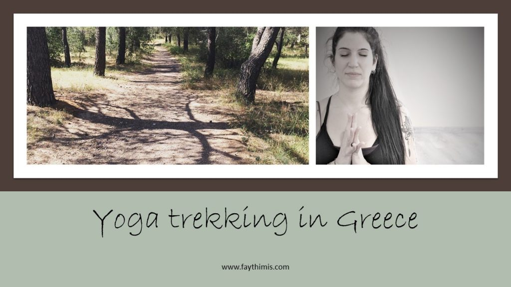 Yoga trekking in Greece